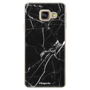 Plastové pouzdro iSaprio Black Marble 18 na mobil Samsung Galaxy A5 2016