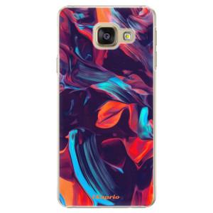 Plastové pouzdro iSaprio Color Marble 19 na mobil Samsung Galaxy A5 2016