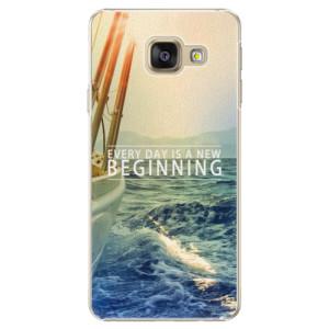 Plastové pouzdro iSaprio Beginning na mobil Samsung Galaxy A5 2016