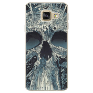 Plastové pouzdro iSaprio Abstract Skull na mobil Samsung Galaxy A5 2016