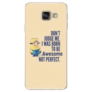 Plastové pouzdro iSaprio Be Awesome na mobil Samsung Galaxy A5 2016
