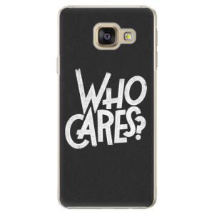 Plastové pouzdro iSaprio Who Cares na mobil Samsung Galaxy A5 2016