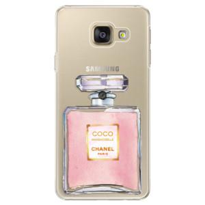 Plastové pouzdro iSaprio Chanel Rose na mobil Samsung Galaxy A5 2016