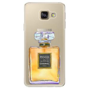 Plastové pouzdro iSaprio Chanel Gold na mobil Samsung Galaxy A5 2016