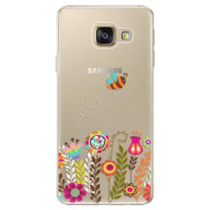 Plastové pouzdro iSaprio Bee 01 na mobil Samsung Galaxy A5 2016
