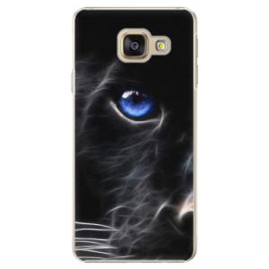 Plastové pouzdro iSaprio Black Puma na mobil Samsung Galaxy A5 2016