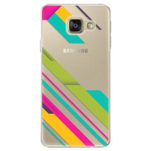 Plastové pouzdro iSaprio Color Stripes 03 na mobil Samsung Galaxy A5 2016