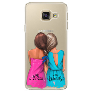 Plastové pouzdro iSaprio Best Friends na mobil Samsung Galaxy A5 2016