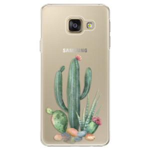 Plastové pouzdro iSaprio Cacti 02 na mobil Samsung Galaxy A5 2016