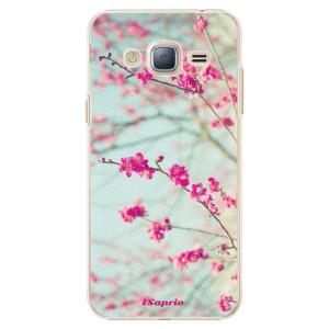 Plastové pouzdro iSaprio Blossom 01 na mobil Samsung Galaxy J3 2016