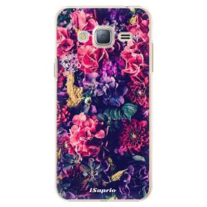 Plastové pouzdro iSaprio Flowers 10 na mobil Samsung Galaxy J3 2016