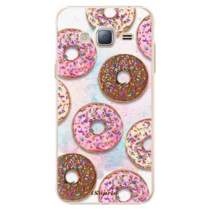 Plastové pouzdro iSaprio Donuts 11 na mobil Samsung Galaxy J3 2016