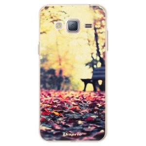 Plastové pouzdro iSaprio Bench 01 na mobil Samsung Galaxy J3 2016