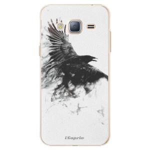 Plastové pouzdro iSaprio Dark Bird 01 na mobil Samsung Galaxy J3 2016