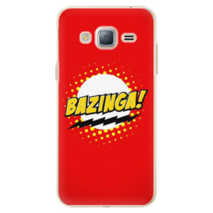 Plastové pouzdro iSaprio Bazinga 01 na mobil Samsung Galaxy J3 2016