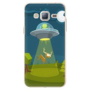 Plastové pouzdro iSaprio Alien 01 na mobil Samsung Galaxy J3 2016