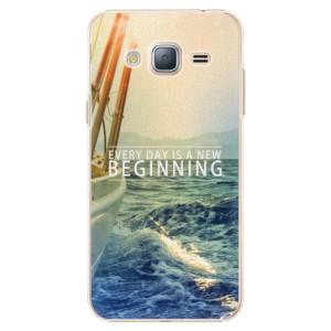 Plastové pouzdro iSaprio Beginning na mobil Samsung Galaxy J3 2016