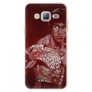 Plastové pouzdro iSaprio Bruce Lee na mobil Samsung Galaxy J3 2016