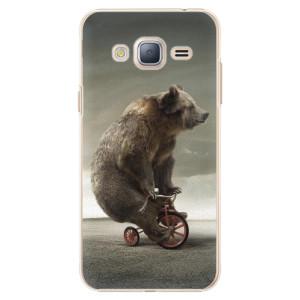 Plastové pouzdro iSaprio Bear 01 na mobil Samsung Galaxy J3 2016