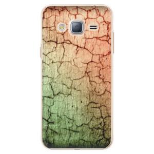 Plastové pouzdro iSaprio Cracked Wall 01 na mobil Samsung Galaxy J3 2016
