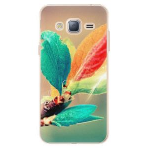 Plastové pouzdro iSaprio Autumn 02 na mobil Samsung Galaxy J3 2016