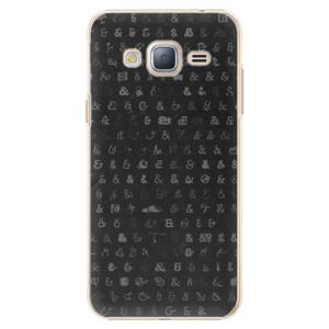 Plastové pouzdro iSaprio Ampersand 01 na mobil Samsung Galaxy J3 2016