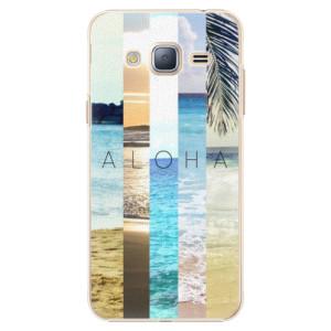Plastové pouzdro iSaprio Aloha 02 na mobil Samsung Galaxy J3 2016