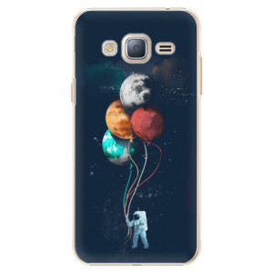 Plastové pouzdro iSaprio Balloons 02 na mobil Samsung Galaxy J3 2016