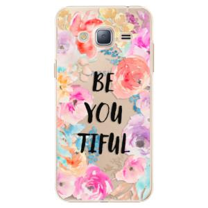Plastové pouzdro iSaprio BeYouTiful na mobil Samsung Galaxy J3 2016