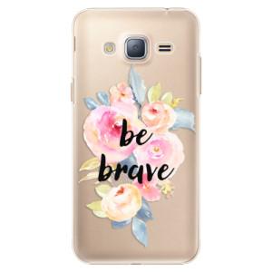 Plastové pouzdro iSaprio Be Brave na mobil Samsung Galaxy J3 2016