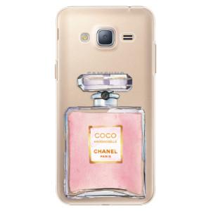 Plastové pouzdro iSaprio Chanel Rose na mobil Samsung Galaxy J3 2016