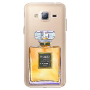 Plastové pouzdro iSaprio Chanel Gold na mobil Samsung Galaxy J3 2016