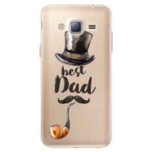 Plastové pouzdro iSaprio Best Dad na mobil Samsung Galaxy J3 2016