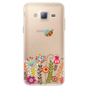 Plastové pouzdro iSaprio Bee 01 na mobil Samsung Galaxy J3 2016