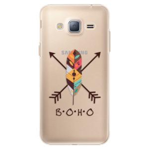 Plastové pouzdro iSaprio BOHO na mobil Samsung Galaxy J3 2016