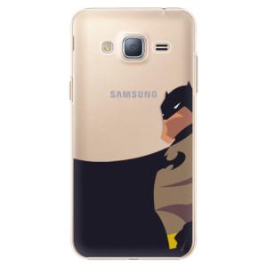 Plastové pouzdro iSaprio BaT Comics na mobil Samsung Galaxy J3 2016