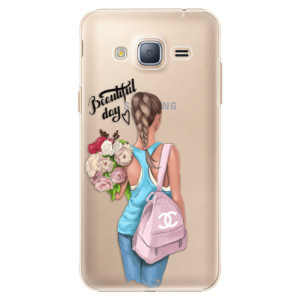 Plastové pouzdro iSaprio Beautiful Day na mobil Samsung Galaxy J3 2016