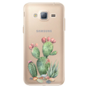 Plastové pouzdro iSaprio Cacti 01 na mobil Samsung Galaxy J3 2016