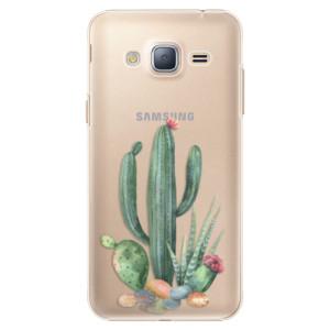 Plastové pouzdro iSaprio Cacti 02 na mobil Samsung Galaxy J3 2016