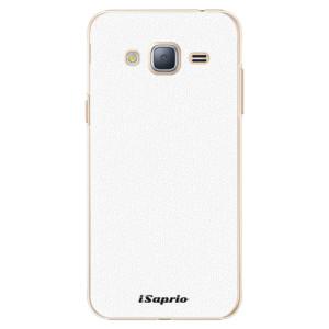 Plastové pouzdro iSaprio 4Pure bílé na mobil Samsung Galaxy J3 2016