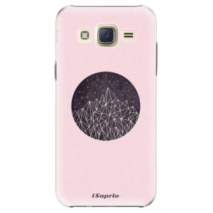 Plastové pouzdro iSaprio Digital Mountains 10 na mobil Samsung Galaxy J5