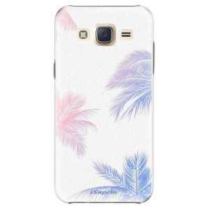 Plastové pouzdro iSaprio Digital Palms 10 na mobil Samsung Galaxy J5