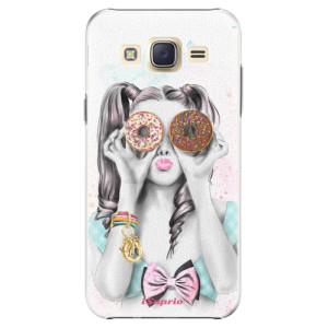 Plastové pouzdro iSaprio Donuts 10 na mobil Samsung Galaxy J5