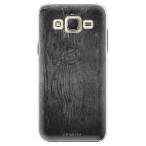 Plastové pouzdro iSaprio Black Wood 13 na mobil Samsung Galaxy J5