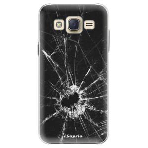 Plastové pouzdro iSaprio Broken Glass 10 na mobil Samsung Galaxy J5