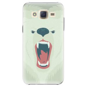 Plastové pouzdro iSaprio Angry Bear na mobil Samsung Galaxy J5