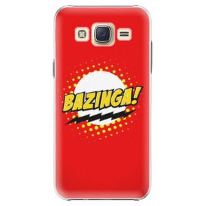 Plastové pouzdro iSaprio Bazinga 01 na mobil Samsung Galaxy J5