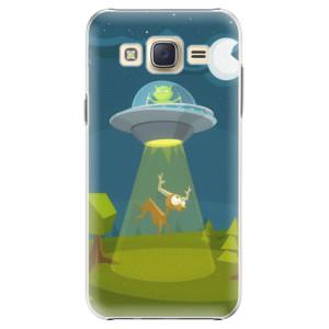 Plastové pouzdro iSaprio Alien 01 na mobil Samsung Galaxy J5