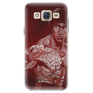 Plastové pouzdro iSaprio Bruce Lee na mobil Samsung Galaxy J5
