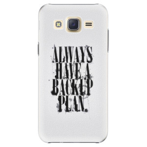 Plastové pouzdro iSaprio Backup Plan na mobil Samsung Galaxy J5